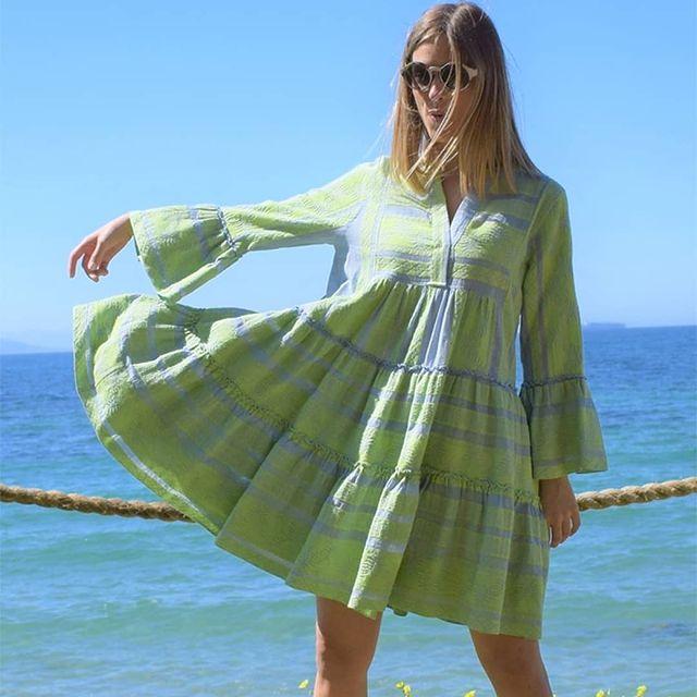 Yiamos Yialova - Eshop Clothes Messinia Devotion Boho dress