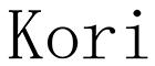 Yiamos Yialova - Eshop Women Clothes Messinia - Kori brand logo